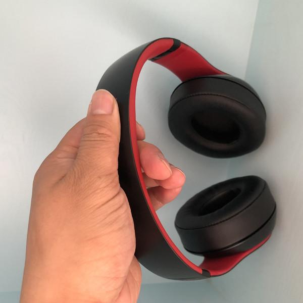 2019 Top venta Stu-Dio 3.0 con W1 Chip BlackRed Color Bluetooth inalámbrico Auriculares con cancelación de ruido B 3.0 con caja al por menor Envío gratuito