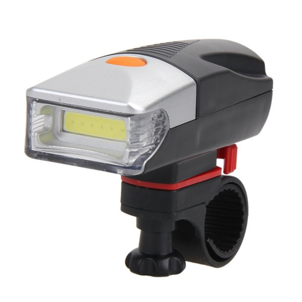 5W COB LED Bike Cycling Front Rear Tail Light 3modes High/Flash/Strobe +5LED Taillight Night MTB Bicycle Light By 3xAAA Battery #662491