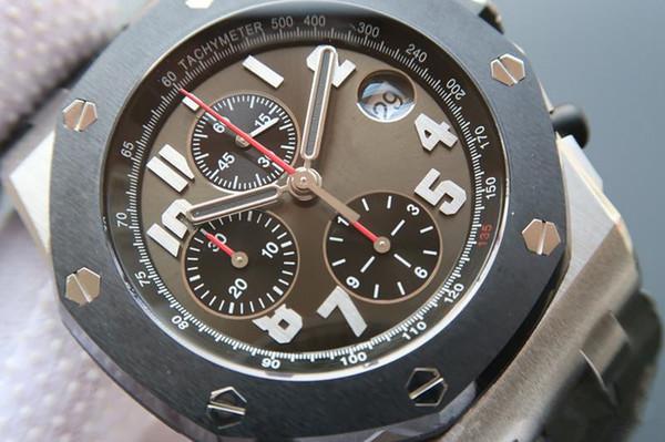 3126 movimento meccanico completamente automatico, orologi di design, orologi luminosi, orologio di lusso, 42mm, pieghevole, impermeabile, reloj de lujo