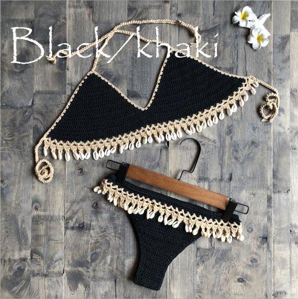 Schwarz Khaki