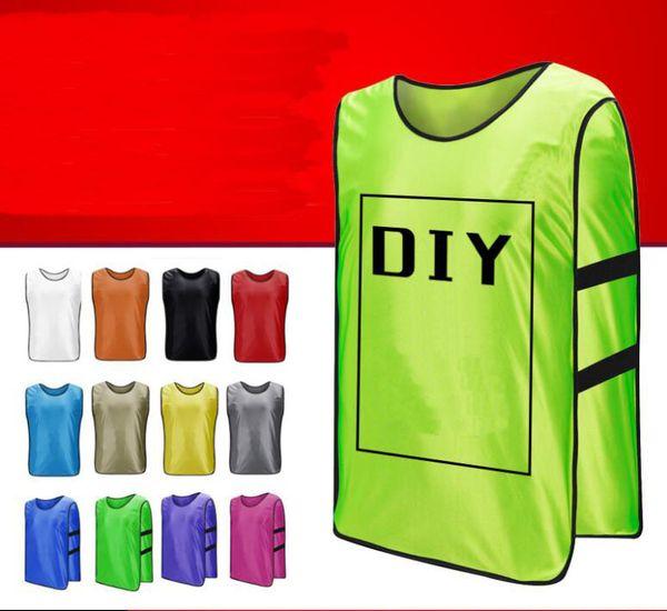 soccer jersey Breathable against clothing football basketball training vest football team detachment advertising vest group expansion vest