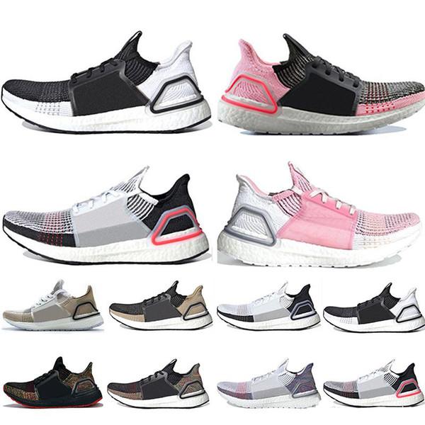 Adidas Ultra Boost 4.0 5.0 aumenta le scarpe da corsa Uomo Donna Stripe Balck Bianco Oreo Designer Sneakers Ultraboost Scarpe sportive Scarpe da ginnastica Taglia 36-45