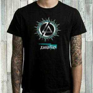 2Linkin 1Park Flaming RoNew Band Hombres 039 s BlaNew Camiseta Talla S M L