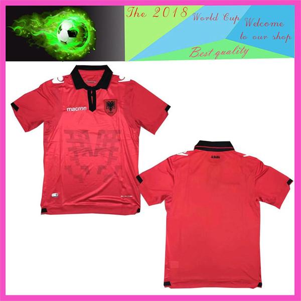 2019/2019 calidad tamaño S-XXL República de Albania 2019 2020 Albania camiseta de fútbol euro 2020 Albania HYSAJ XHAKA 19 20 camiseta de fútbol