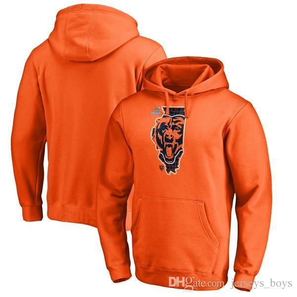 2019 de motif Bears de Chicago modèle Pro Line par Ravens de Baltimore Fanatics Branded Playoffs Bound de Pull Hometown Pull