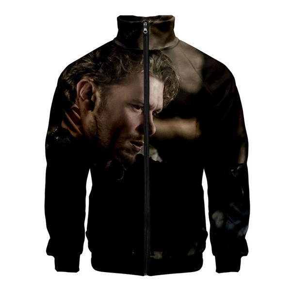 Niklaus Mikaelson 3D Jacket Men 2019 Popular Fashion Casual Jacket Men Exclusive Harajuku New Style Casual 3D Clothes 4XL