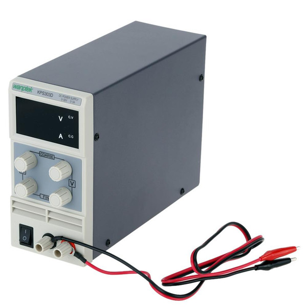 Freeshipping Switching Display 3 Digits LED 0-30V 0~3A Mini DC Power Supply Precision Variable Adjustable AC 110V/220V 50/60Hz