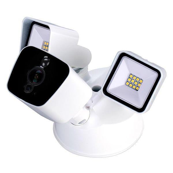 Holanvision Сад Безопасность 4G камеры 1080P сад Прожектор Wireless Cam с функцией обнаружения движения двухсторонняя аудио ночного видения