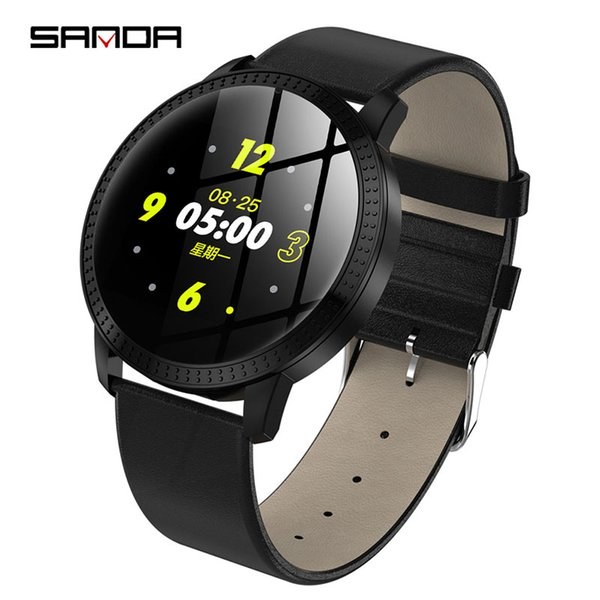SANDA Luxury Smart Watch IP67 Waterproof Heart Rate Monitor Blood Pressure Fitness Tracker Men Women Smartwatch For IOS Android