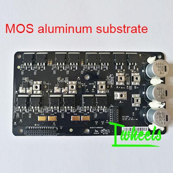 MOS aluminum substra