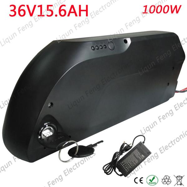 36V 15AH lithium Battery 36V 15AH Electric bicycle Battery With USB port +40A BMS+42V 2A Charger for 36V 350W 500W1000W motor.