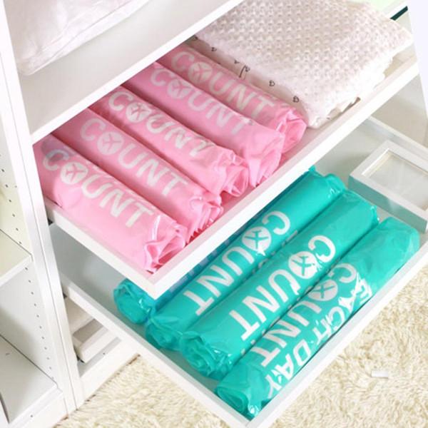 Sacos de compressão compactados do armazenamento do vácuo do rolo da mão da roupa do curso sacos não incluídos do selo do espaço da economia