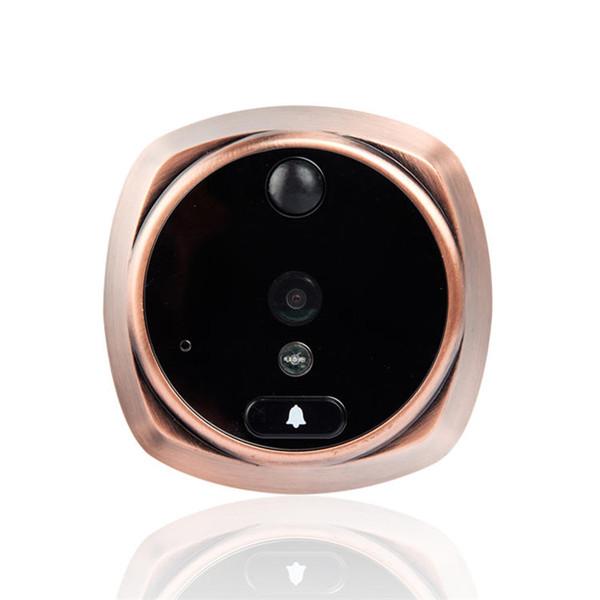 4,3 pollici TFT LCD Digital Peephole del visore del portello della macchina fotografica di PIR Motion Detection campanello 160 gradi