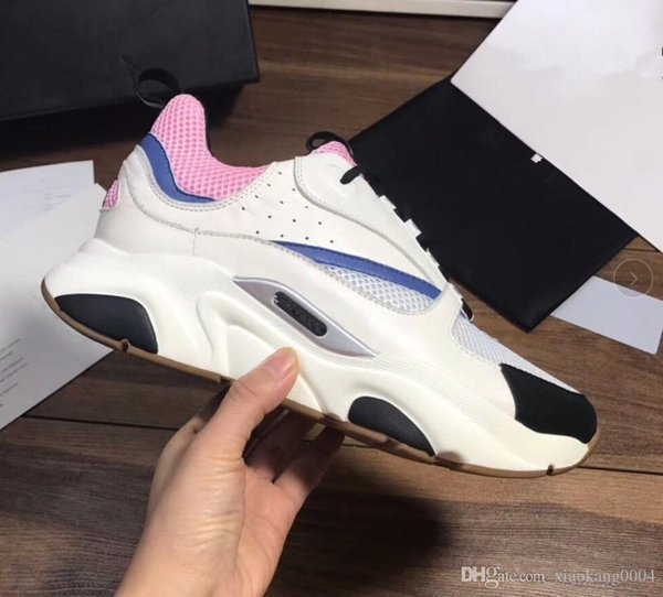 2019 nova alta qualidade B22 dos homens calçados esportivos casuais sapatos de moda senhoras Francês marca grife sapatos casuais m189606