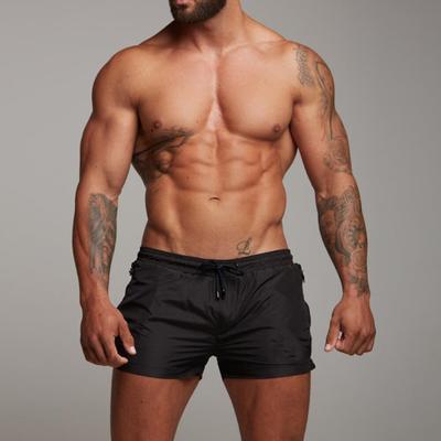 Yeni Yaz erkek Kısa Plaj Pantolon Moda Şort Spor Ince Vücut Geliştirme Koşu Spor Pantolon erkek Spor Kısa