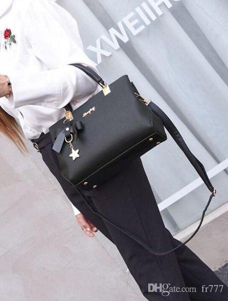 Tropfenverschiffen färbt beiläufige Einkaufstaschereisesatz PU-Lederhandtaschen der hochwertigen Art und Weise berühmten Markenfrauen preiswertes GroßhandelsEuropa populär