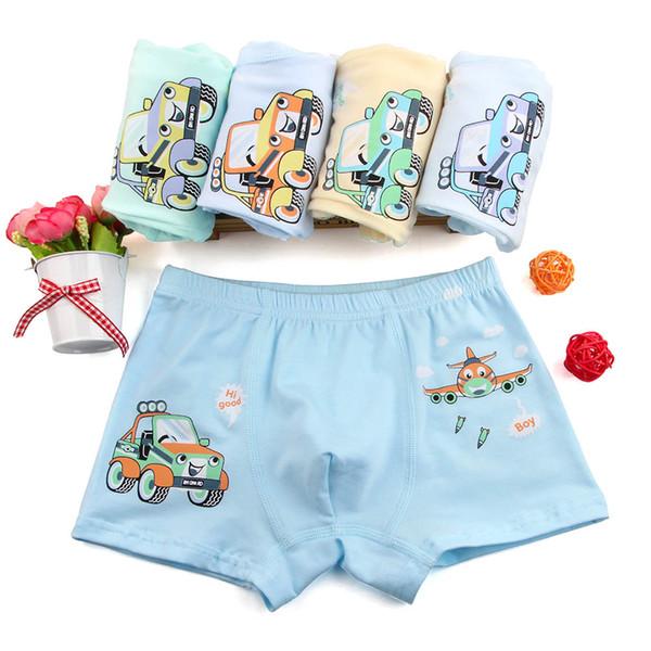 boy boxer 5 Pcs/lot baby Boys Underwear Kids Panties Cartoon Doraemon Taxi Car Child Underpant Cotton Shorts For Children Brief