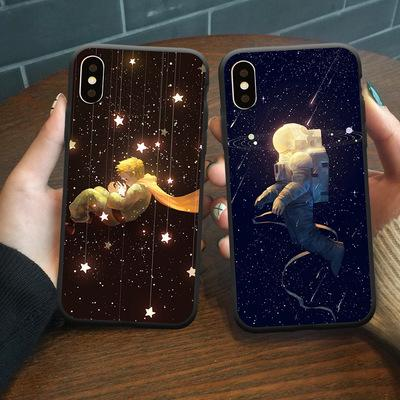 Beautiful Planet Pattern Crashproof Soft Back Cover TPU Cell Phone Cases Protective Covers For iPhone X XR XS MAX 6 6S 7 8 PLUS