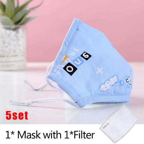 Maske x filter 5 Stücke G