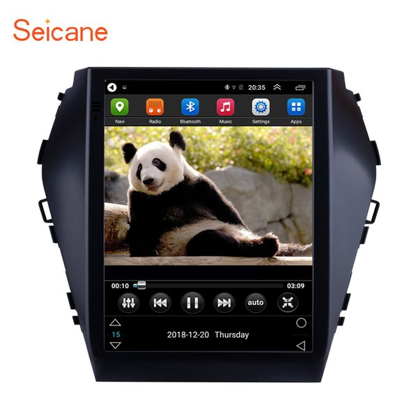 9.7 inch HD Touchscreen Android 6.0 Car Multimedia Player for 2015 2016 2017 Hyundai Santafe IX45 with WIFI GPS Navi support car dvd TPMS