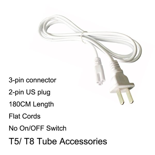 180CM US Power Cords No Switch