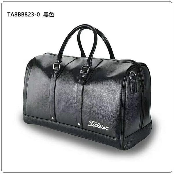 best selling Wholesale-High quality fashion shoes clothing bags men's golf bag branded golf accessories ball travel bag with PU