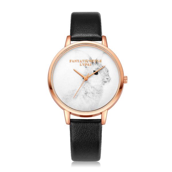Vente chaude De Mode Femmes Montres Fille Bracelet Montre En Cuir Quartz Wtistwatches Cadeau Horloge Relogio Zegarek Damski #B