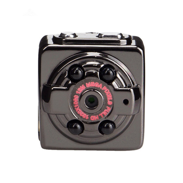 Süper Mini Kamera SQ8 Taşınabilir DV Spor Kamera 1080 P 720 P HD Araba Gece Görüş DVR Hareket Dedektif Kamera Perakende Kutusu