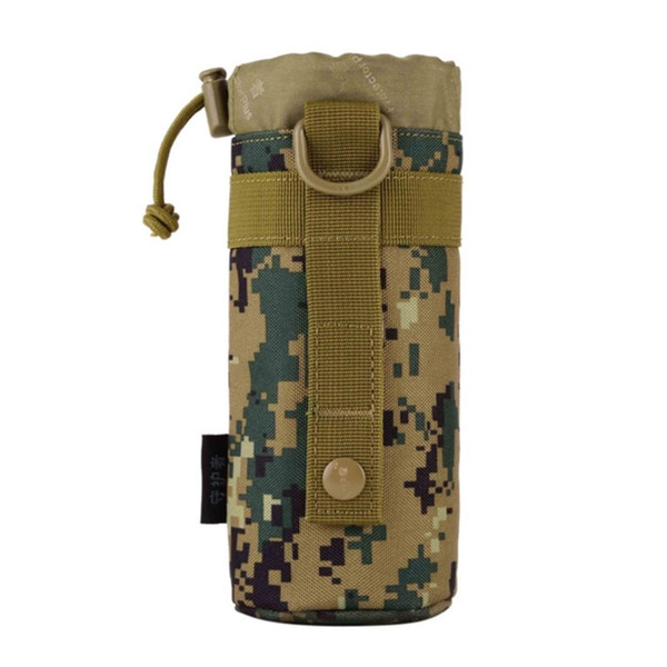 Outdoor Tactical Gear Military New Original Designed Bottle Pouch Molle System Water Bottle Bag Kettle Pouch Holder #159200