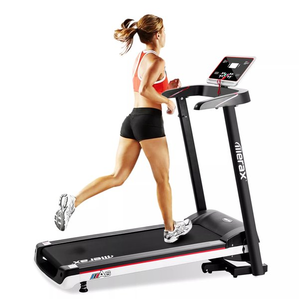 top popular Merax New Fashion Folding Electric Treadmill Home Gym Motorized Power Running Machine 2019