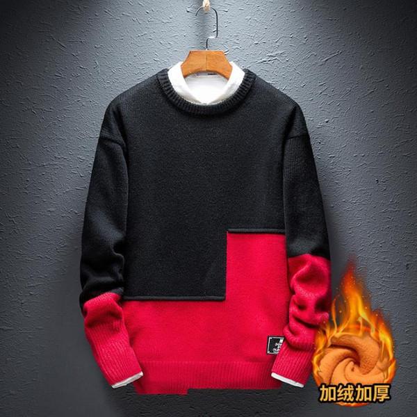 Теплый теплый свитер для мужчин осень / зима 2019 yt01
