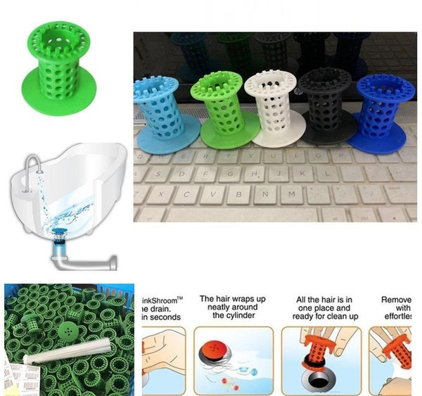 7 Colors Bathroom Kitchen Drain Stopper Plug Bathtub Strainers Sink Filter Covers Silicone Household Tools D0421