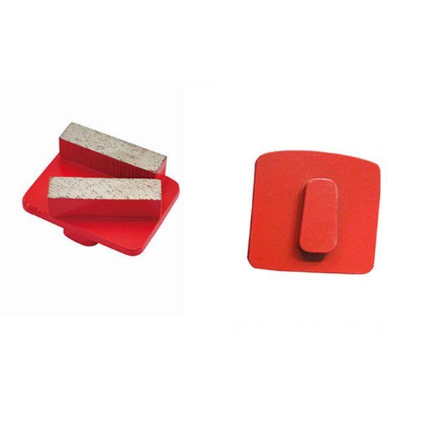 best selling Redi Lock Diamond Grinding Shoes Quick Change Husqvarna Concrete Grinding Disc Floor Polishing Pads for Husqvarna Grinder 12PCS