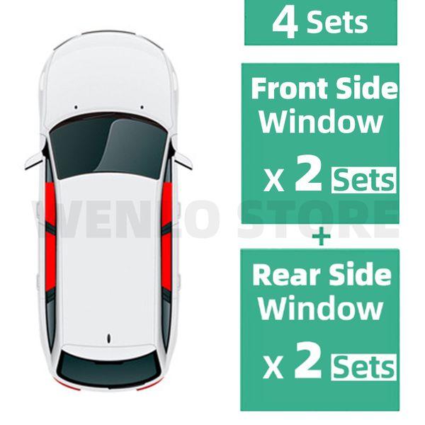 4 PCS côté de Windows