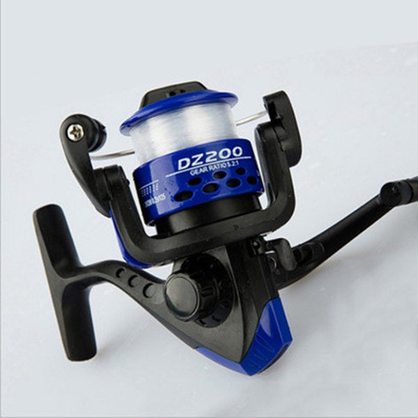 Fishing reel spinning reel lure round reel fishing sea rod gear round spinning reels with fishing line ZZA591