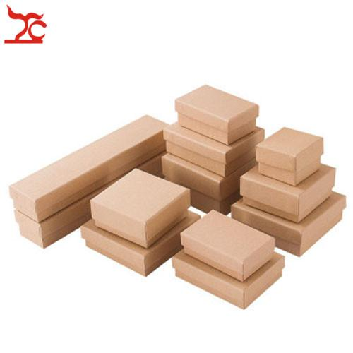 7e71c4509 Kraft Paper Box Jewelry Storage Box with Sponge Necklace Ring Case Candy  Gift Box Wedding Party Boxes Packing Jewelry Wrap 12pcs Lot