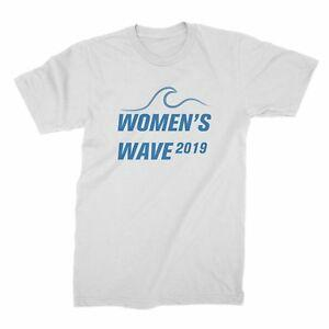 Camiseta 039 s Wave 2019 para mujer The Future is Female Shirt Camiseta Wave para mujer