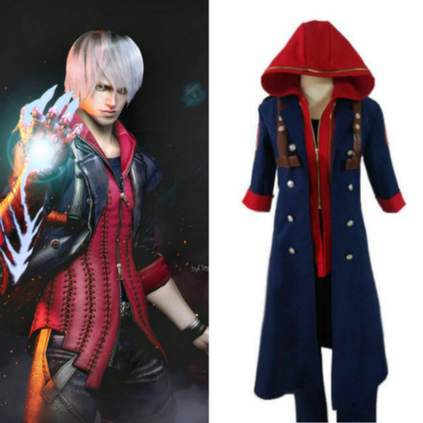 Devil May Cry 4 Nero Outfit Uniform Cosplay Costume Custom custom made