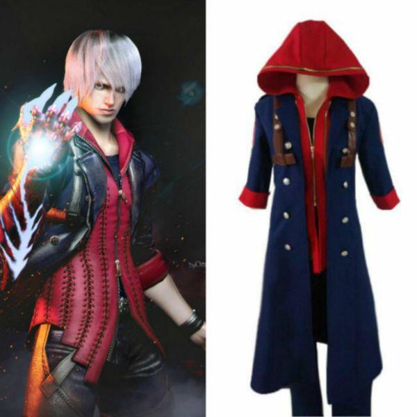 Devil May Cry 4 Nero Outfit Uniform Cosplay Kostüm Maßanfertigung