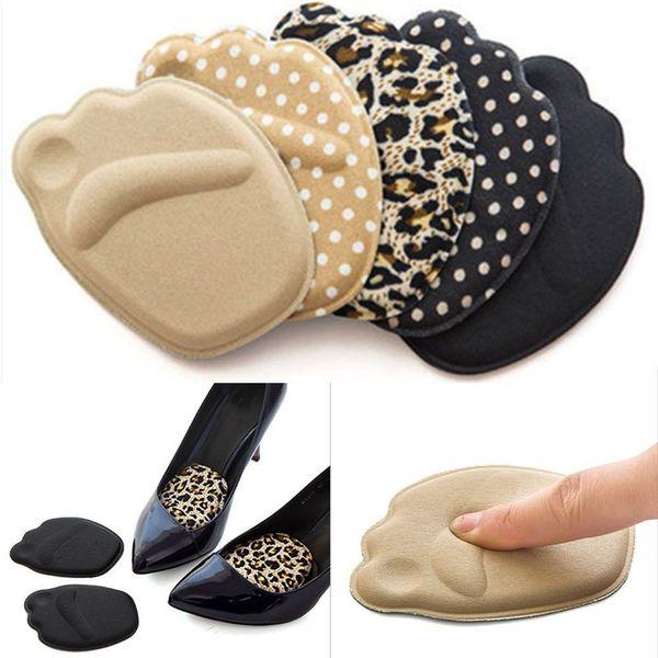 1 пара подошва высокий каблук ноги подушки стопы противоскользящая стелька дышащая обувь Pad мягкие вставки стельки