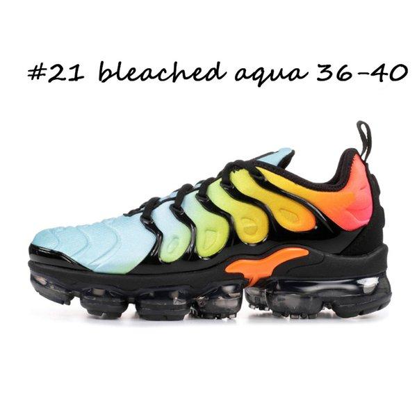 #21 bleached aqua 36-40