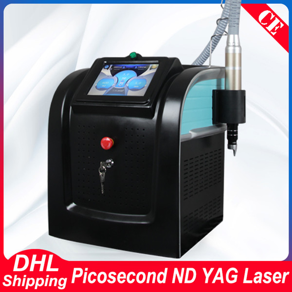 Q Switch Pico Laser Nd Yag Laser Tattoo Rimozione di cicatrici Tatuaggio Rimuovere Picosecond Laser Machine Picosure Beauty Equipment