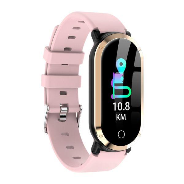 696 T1 Pulsera Inteligente Mujeres Pulsera Hear Rate Fitness Tracker Banda Inteligente  Moda Reloj Inteligente a 286988f9af2f