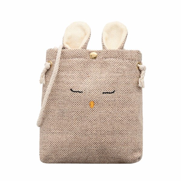 Cheap Fashion 2019 Brand Handbag Casual Shoulder Bag Woman cute cartoon Bucket Bag Simple mini Cloth Shopper Bags Beach Totes