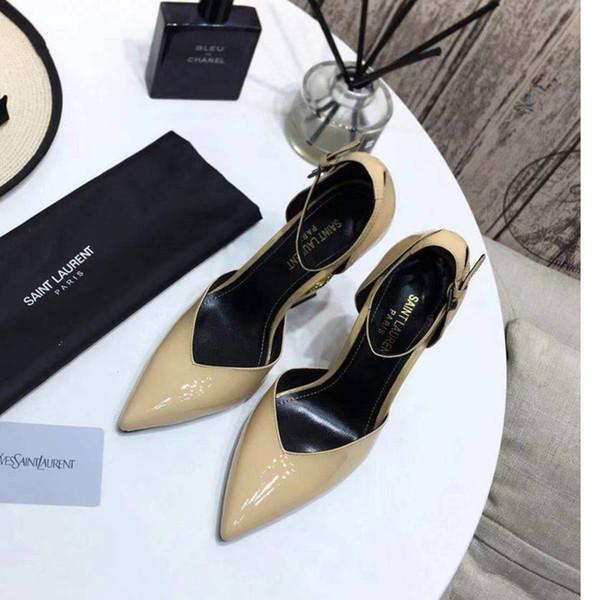 Women High Heels 2019 Fashion Atmosphere Temperament Casual Shoes Size 35 40 WSJ013 Elegant And Elegant Fabric Soft Shoesx6 Shoes Online Kids Wedding