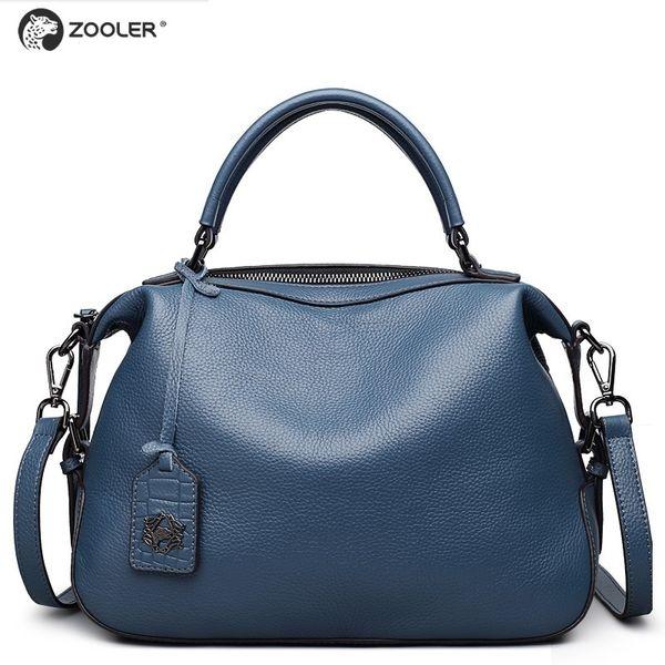 8f0fe36d8 saco de ombro uxury ZOOLER 2019 novo projetado real macio genuíno bolsas de  couro das mulheres