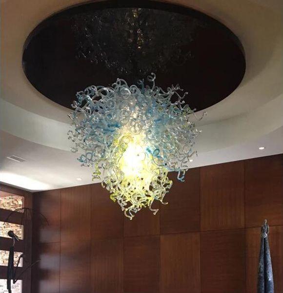 Lámpara de techo moderna colgante redonda para el hogar