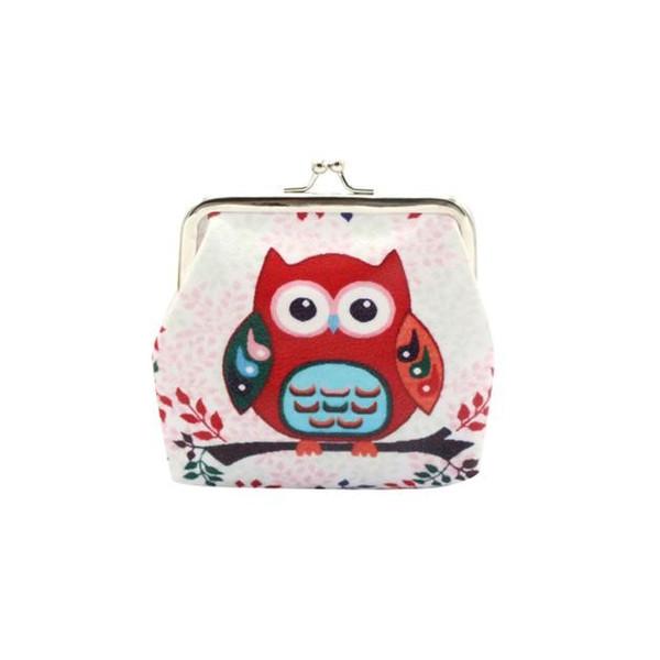Hot Sale Women Coin Purse Cute Wallet Lady Retro Vintage owl Small Wallet Hasp Purse Kawaii Bag Clutch Bag Monedero 1.19