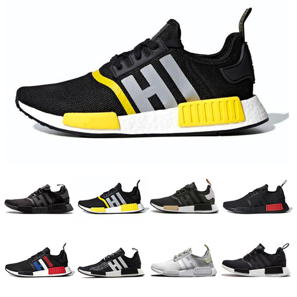 2019 New Release Designer mode chaussures de luxe Mens R1 Femmes Vague Runner Running Chaussures Hommes Ultra formateurs Top Qualité chaussures Sneakers