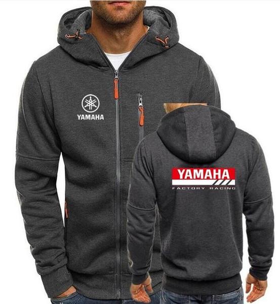 2019 güz Mannen Vrouwen Motorlu hoodie Rossi Hoodies tişörtü Ceket trui kapşonlu ceket YAMAHA hoodie gg için rahat jas